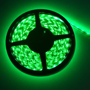 DC12V/24V SMD5050 Green LED Flexible Light Strip