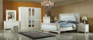 Comercio al por mayor tamaño personalizado modernos de madera maciza Muebles de dormitorio establecido