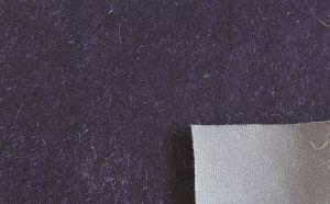 Flocage canapé en tissu du siège de la fourrure en daim Espg-096