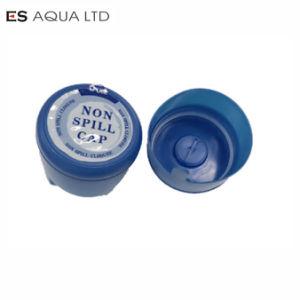 55mm 100%新しいNon-Spill 18.9L/19L/20L/5つのガロンの水差しのPEのカプセルカバーふたの帽子