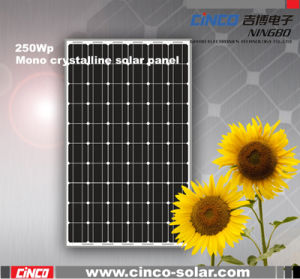 Foto-voltaischer Sonnenkollektor 5W-250W