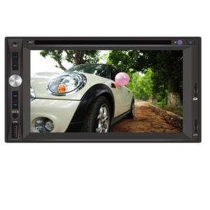 GPS, Bluetooth, 텔레비젼 (6017)를 가진 두 배 DIN 차 DVD 플레이어