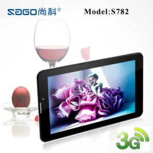 7 polegadas cartões SIM de Duplo Núcleo duplo com função de telefone preço de fábrica para Tablet PC (S782)