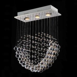 A decoração de forma cardíaca lustre de cristal da Luz de Teto (GD-8006-3)