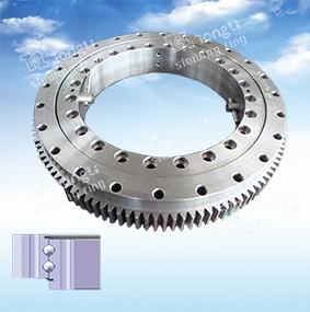 Helle /Double-Row-Kugel des Serien-europäischen Standards/äußere Fahrwerk-Kugel, die Ring/Slewing nachläuft