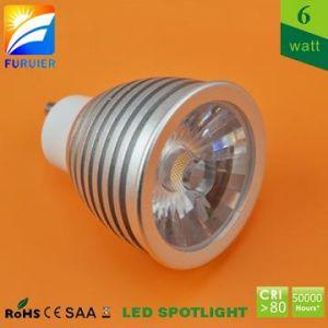 6W WS GU10 LED Spotlight (F2-003-GU10-6W)
