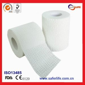綿の伸縮性がある付着力の包帯の (EAB)スポーツサポートテープ