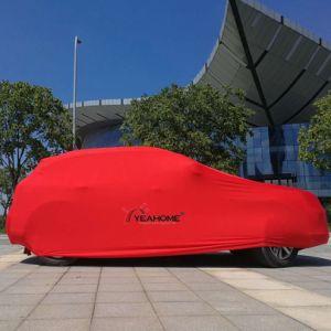 Yeahome Logotipo personalizado elástico Anti-UV Dust-Proof cubierta de coches de lujo