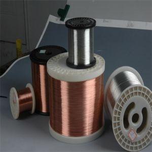 Fio de alumínio revestido de cobre do fio CCA