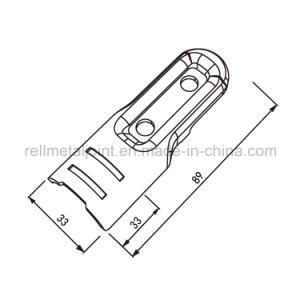 Fijaciones metálicas para tubo y el sistema mixto (H-6A)