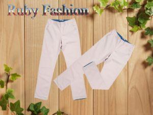 Pantaloni casuali dei nuovi uomini di disegno di alta qualità (pantaloni), stile di Prevaling