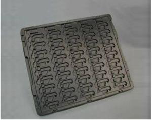 embalaje personalizado y de la placa de rotación de la bandeja de plástico