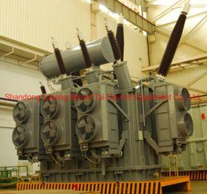 360MVA 330 Kv Oil-Immersed trois Phase Trois enroulement du transformateur de puissance avec arrêt automatique de charge de changeur de robinet
