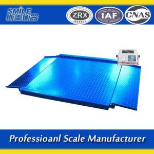 Simei échelles de plancher électronique avec plate-forme 1-5tonnes avec afficheur numérique