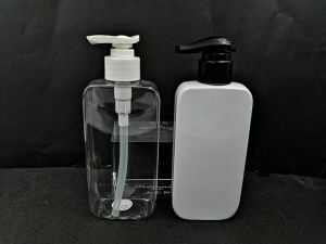 280ml/500ml Hand Sanitizer Pompe à lotion en plastique PET bouteille d'alcool