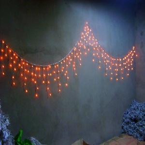 Kundenspezifisches Eiszapfen-Licht der Weihnachtsbeleuchtung-Dekoration-LED