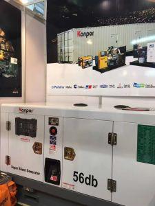 Generatore silenzioso eccellente con il motore 56dB-65dB del ATS Yanmar a 7m