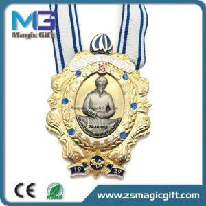 رخيصة صنع وفقا لطلب الزّبون مكافأة [شوول] رياضة معدن وسام مع [غلد بلتينغ]