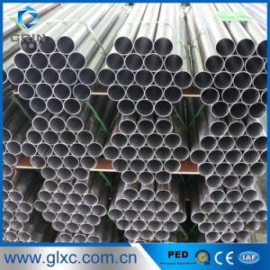 Tubo saldato TP304 dell'acciaio inossidabile con la certificazione del PED