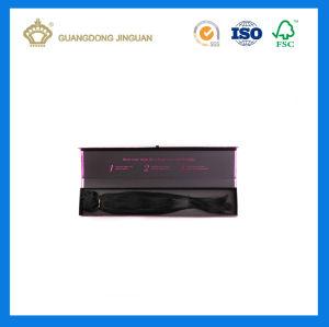 Высокое качество человеческого волоса добавочный номер подарочной упаковки (с использованием логотипа фиолетового цвета пленки)