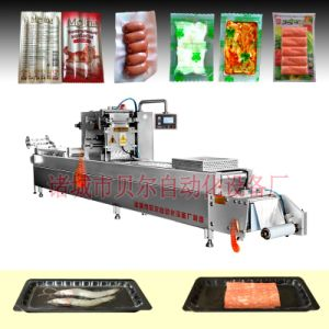 Вакуумный& заправки азотом упаковки овощей механизма