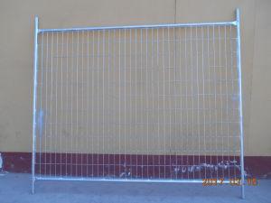 플라스틱 기초를 가진 건축에 의하여 용접된 임시 금속 담 위원회 최신 판매가 호주에 의하여 직류 전기를 통했다