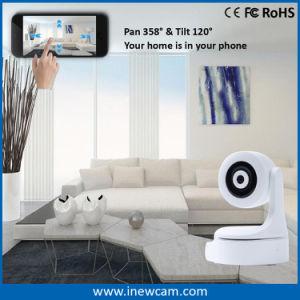 1080P Mini Wireless P2P cámara IP con el color blanco