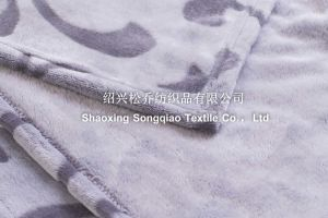 Одеяло / Полиэстер рельефным фланелевая подкладка из флиса офсетного полотна