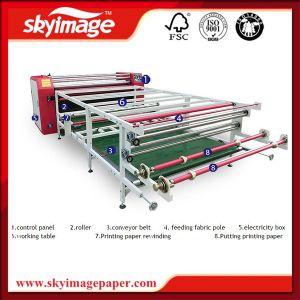O rolo a rolo calendário rotativo têxteis 1,9 milhão 420mm para poliéster/Lycra//Non-Woven Impressão de tecido de nylon