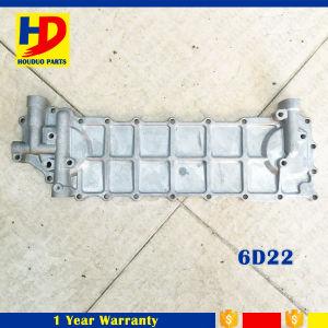 6D22 de ZijDekking van de Koeler van de olie 6D22 voor de Delen van de Dieselmotor van Mitsubishi (ME150453 ME150441)
