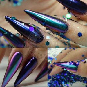 Unicorn Pearl Блестящие цветные лаки Chameleon пигмент лак для ногтей искусства