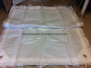 Tissu filtrant non tissé pour filtre presse