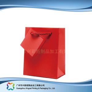 Le papier imprimé à l'Emballage Sac pour le shopping// cadeau des vêtements (XC-bgg-022)