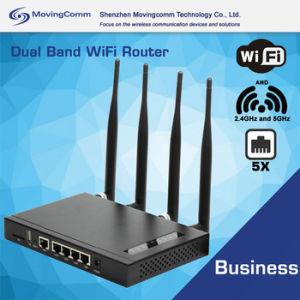 Ethernet-Kanal WiFi Fräser der Leistungs-MW-A90L Openwrt Doppelband2.4ghz 5GHz 600Mbps 5