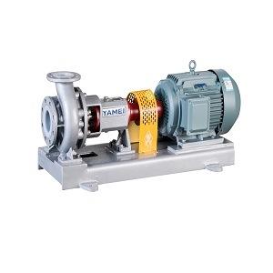 고압 스테인리스 단단 수평한 산업 원심 산성 미터로 재는 펌프 또는 산성 물 화학제품 펌프