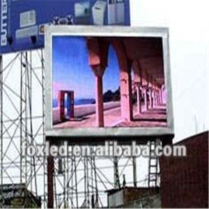 HD pleine couleur extérieure P10 P8 Afficheur à LED pour la publicité