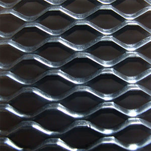 Malha de metal expandido achatados com 4x8 metros para triagem de tamanho ou segurança