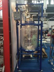 ردّ فعل غلاية مفاعلة كيميائيّ مزدوجة