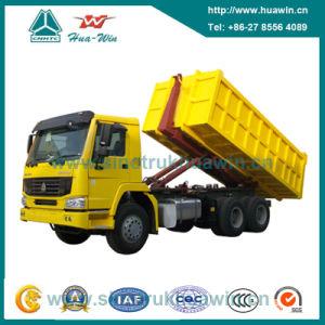 Sinotruk HOWO 336HP 6X4 Hook Arm Garbage Truck