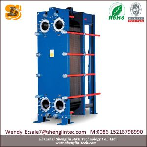 上海Shenglinの海水の版の熱交換器