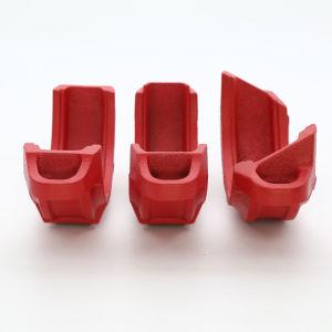 延性がある鉄の消火活動システムのための溝がある管接合箇所の溝がある堅いカップリング