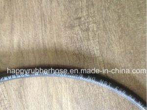 Fio de borracha de alta pressão do tubo de óleo reforçado