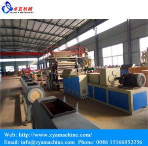 La impresión de transferencia de calor Panel de mármol de PVC maquinaria extrusora