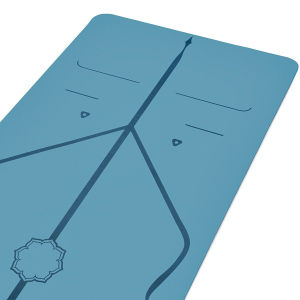 Suministro de la fábrica de caucho de naturaleza ecológica PU estera del yoga