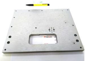 Kundenspezifischer Edelstahl-Gussteil CNC, der im Maschinerie-Teil maschinell bearbeitet