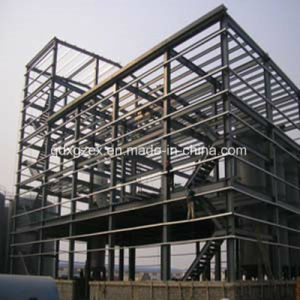 Estructura de acero Multi-Storey Edificio (SSW-186)