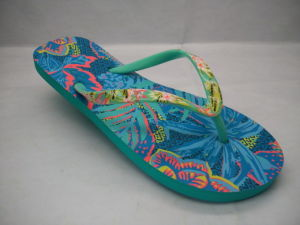 Lady Mode féminine Slipper Flip Flop avec cordon (22LFT910)