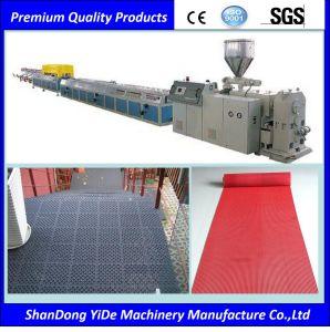 PVC Type creux et salle de bains tapis de plancher de l'extrudeuse en plastique