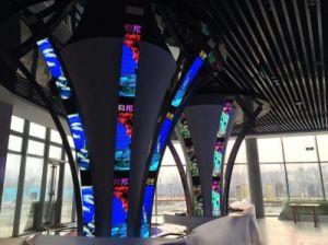 Indoor pleine couleur écran LED Flexible P3 pour la publicité vidéo