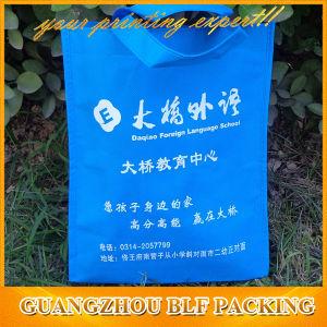 Saco de polietileno não tecidos azul Imprimir (BLF-NW233)